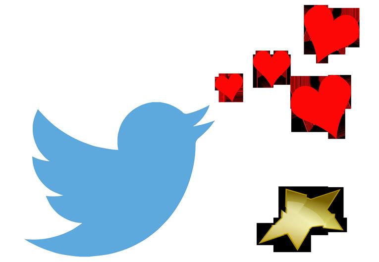 LogoTwitterCorazonesEstrellaRota